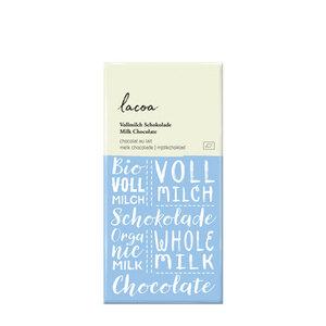 Bio Schokolade Lacoa Vollmilch - Mitienda Shop