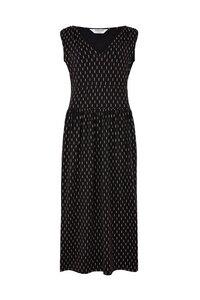 Kleid mit Print | Robyn Ikat Print Dress - People Tree