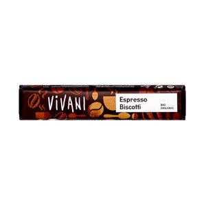 Bio Schokoladenriegel Espresso Biscotti - Mitienda Shop