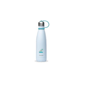 Qwetch Kids Collection isolierte Edelstahl Trinkflasche 500ml Kids Collection Pastell Farben 500ml - isoliert - Qwetch