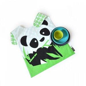 Kinder-Tischset Biobu Bambino 'Panda' - EKOBO