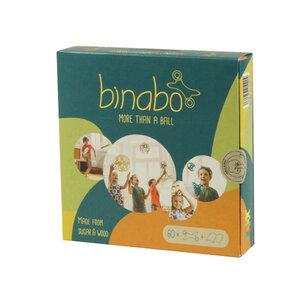 Binabo - Konstruktionsspielzeug aus Bioplastik - 60 Chips in vier Farben - von Tic Toys - TicToys