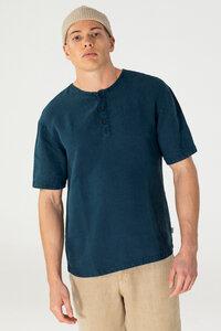 Hanf Kurzarm-Shirt - Habanero - MÁ Hemp Wear