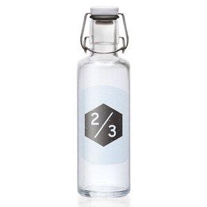 Soulbottle 'zweidrittel 2/3' - Trinkflasche aus Glas - soulbottles