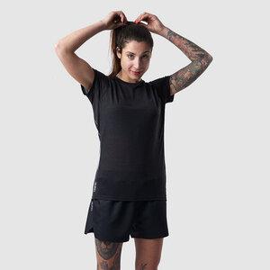 Damen Sportshirt aus Tencel und Merinowolle  - runamics