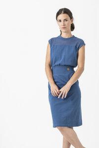 Kleid FIONA aus Biobaumwolle (kbA) Made in Germany - Grenz/gang