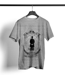 Proclamation Shirt Herren 'heather grey' - DENK.MAL Clothing