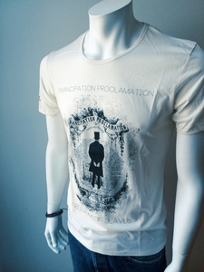 Proclamation Shirt Herren 'natur' - DENK.MAL Clothing