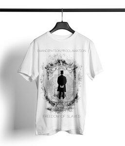 Proclamation Shirt Herren 'white' - DENK.MAL Clothing