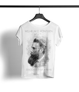 Röntgen Shirt Damen 'white' - DENK.MAL Clothing