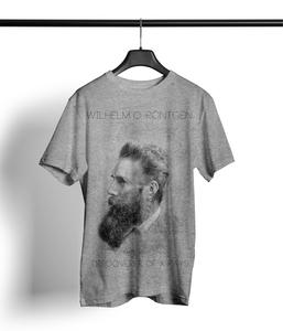 Röntgen Shirt Herren 'heather grey' - DENK.MAL Clothing