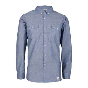 bleed Oxford Shirt Blue - bleed