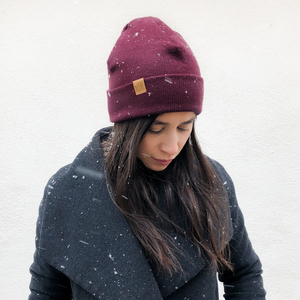 Wintermütze CARLY BEANIE Bio Baumwolle - LDP Homemade