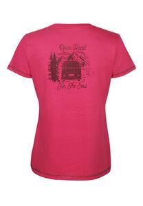 Damen T-Shirt VW-Bulli Open Road - Elkline