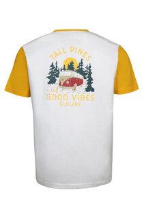 Herren T-Shirt Tall Pines mit VW-Bulli Print - Elkline