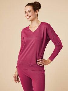 "Gemütliches Yoga- & Homewear-Longsleeve ""Matangi 2"" aus nachhaltiger Viskose - chakrana"