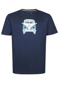 Herren T-Shirt Methusalem mit VW Bulli Print - Elkline