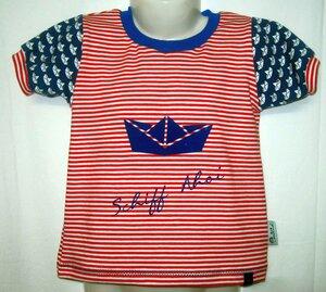 T-Shirt Schiff Ahoi - Omilich