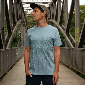 Birken T-Shirt für Herren in citadel blue - Cmig