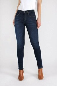 CAREY Super Skinny High Waist Jeans (dark blue) - Kuyichi