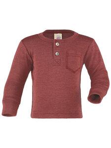 Engel Natur Baby und Kinder Langarm-Shirt Bio-Wolle/Seide - Engel natur