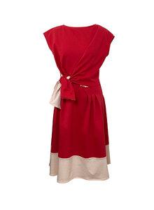 Jerseykleid Anna aus Bio-Baumwolle mit Borte - Skrabak