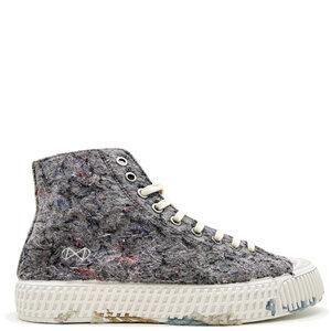"""Veganer Sneaker """"nat-2 Mover"""" grey aus recycelten Fashion Textilien, Cord, Kork und Zuckerrohr - nat-2"""