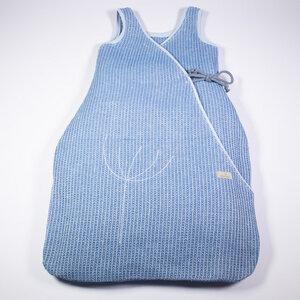Baby und Kinder Schlafsack aus Leinen-Waffelpiquée , Sommer - nahtur-design