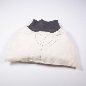 Baby und Kinder Strampelsack aus Leinen-Waffelpiquée , Sommer - nahtur-design