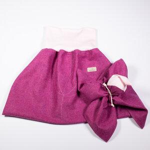Baby und Kinder Strampelsack + Schmusewichtel aus 100% mulesingfreier Merinowolle, Leichtloden, Frühling,+Sommer - nahtur-design