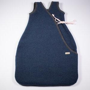 Baby und Kinder Schlafsack aus Flauschloden, 100% Merinoschurwolle, mulesingfrei - nahtur-design
