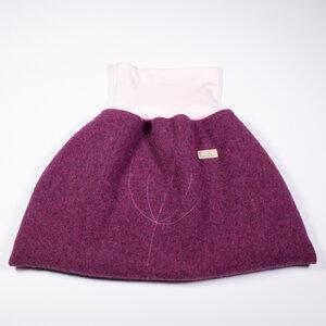 Baby und Kinder Strampelsack aus 100% mulesingfreier Merinowolle, Flauschloden, Winter - nahtur-design