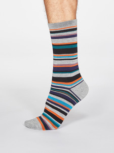 Bambussocken Braxton Stripe - Thought