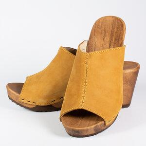 Elly - Woody - der Holzschuh mit biegsamer Holzsohle
