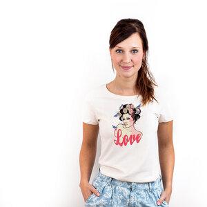 Lady Bird - Frauenshirt Bio mit Print - Coromandel