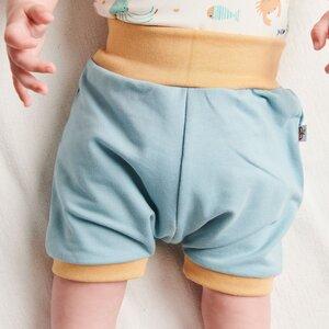 "Basic Shorts ""Sommersweat Frost"" aus Bio-Baumwolle - Cheeky Apple"