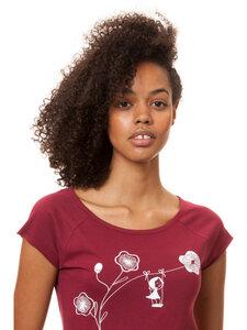 Damen T-Shirt Schaukelmädchen Bio Fair - FellHerz