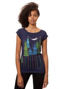 Damen T-Shirt Wood Girl Bio Fair - FellHerz