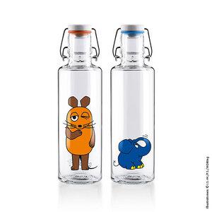 soulbottle • Trinkflaschen aus Glas • Bundles • Sendung mit der Maus - soulbottles