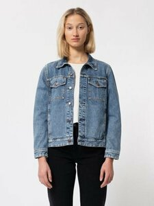 Bettina Jeansjacke pure blue - Nudie Jeans
