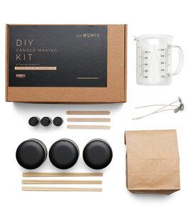 DIY Kit zur Herstellung von 3 Duftkerzen, vegan - Munio Candela