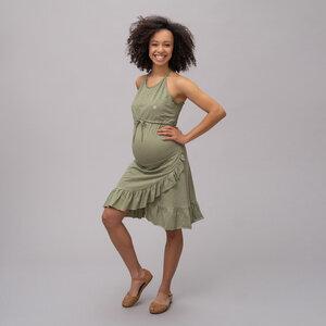 Umstands- und Stillkleid Flamenco 100% Bio-Baumwolle - stillfashion