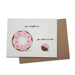 Grusskarte 'you complete me' - Good Paper