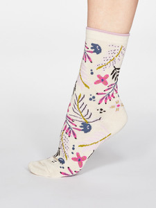 Damen Bambussocken Nelly Floral - Thought