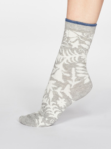 Damen Socken Otomi Floral - Thought