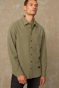 "Klassisches Hemd ""Enda Pocket"" aus Bio-Baumwolle in Seersucker-Bindung - Kings Of Indigo"