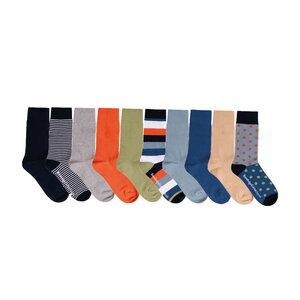 10-Pack Socken LINDEN - KnowledgeCotton Apparel