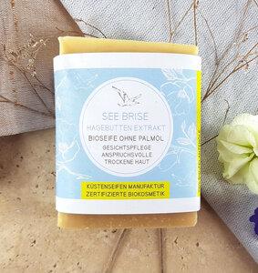 See Brise Bioseife für trockene Haut mit Hagebutten-Extrakt - Küstenseifen Manufaktur