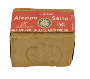 Alepposeife 16% Lorbeer - Finigrana