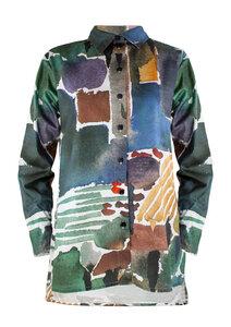 Unisex Shirt Lui, San Gimignano - Hemd aus Bio-Baumwolle - Sophia Schneider-Esleben